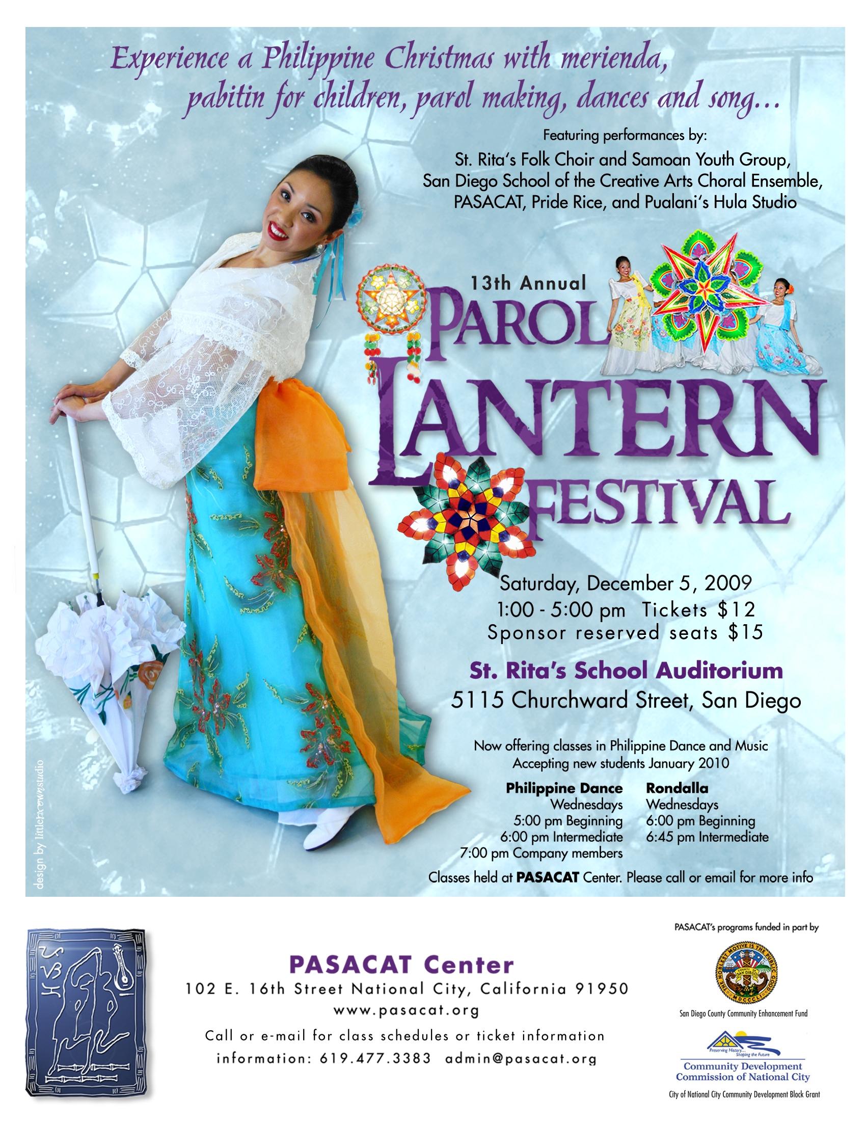 PASACAT Parol Lantern Festival 2009-12-05