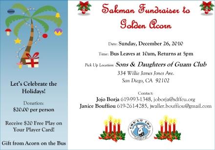 CHELU Sakman Fundraiser 2010-12-26