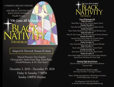 Common Ground Theatre - Black Nativity 2010-12