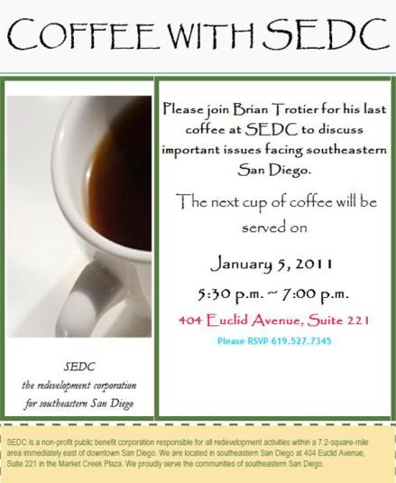 SEDC Coffee 2011-01-05