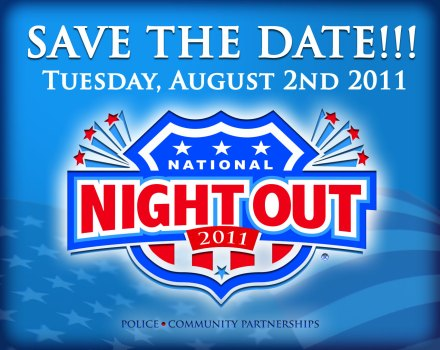 Save the Date! Tuesday, August 2nd 2011