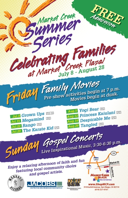 Summer Series – Weekends at Market Creek