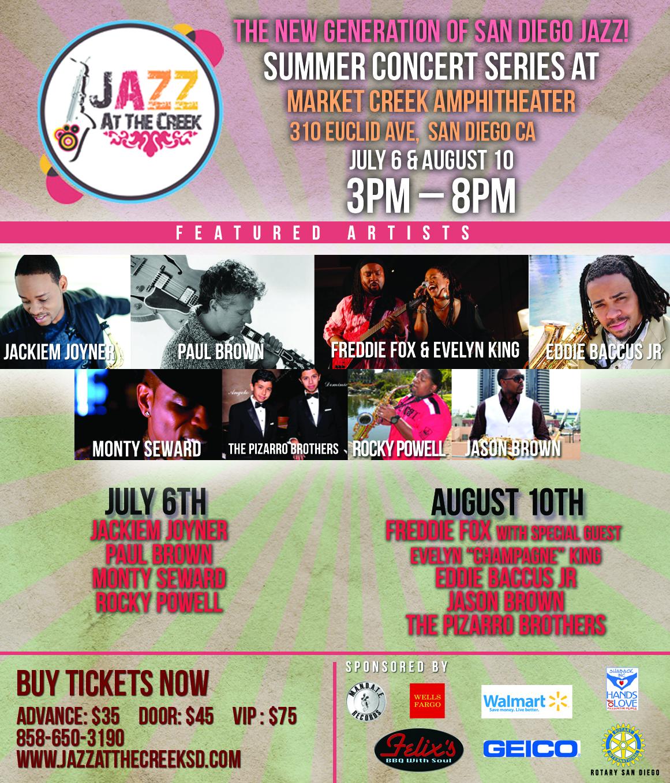 Summer Concert Series at Market Creek Amphitheater