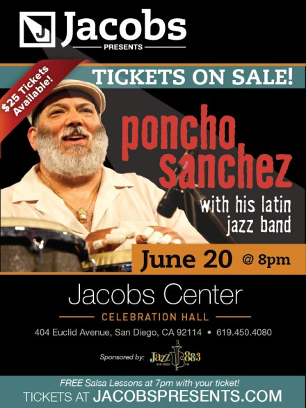 Poncho Sanchez tickets on sale