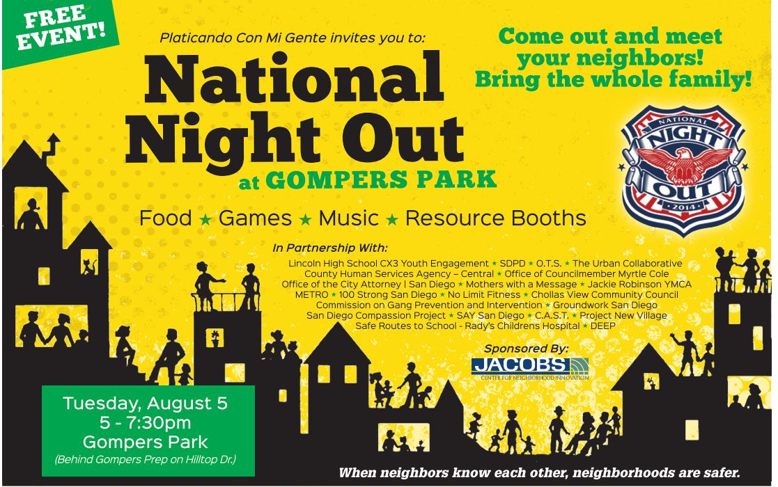 National Night Out Flyers Samples Pictures To Pin On Pinterest