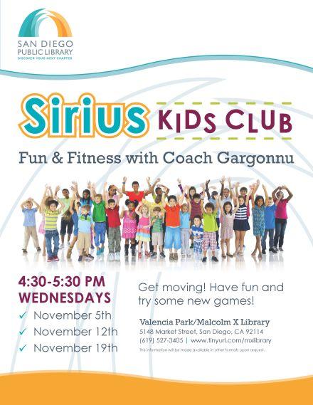 Sirius Kids Club
