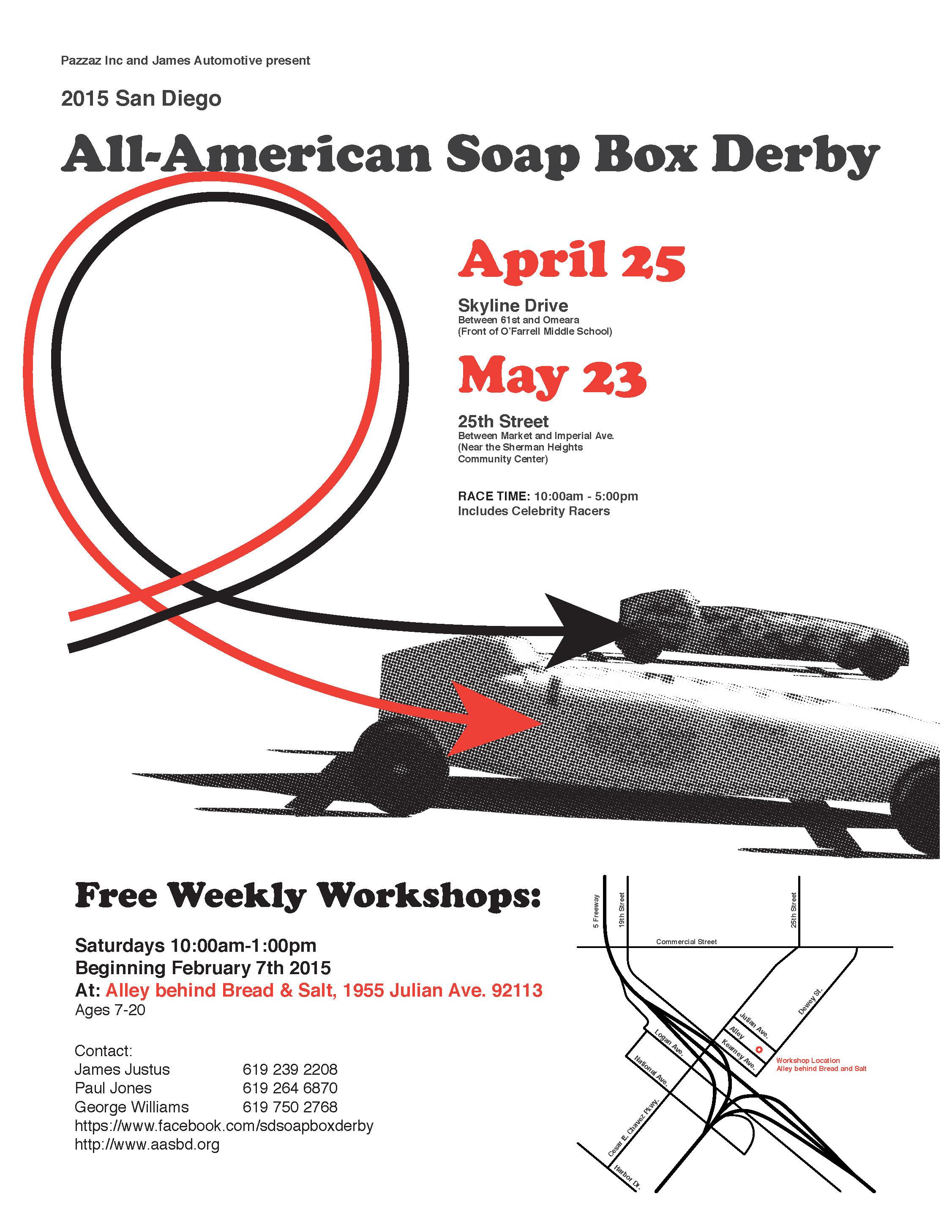 soapbox flyer workshop