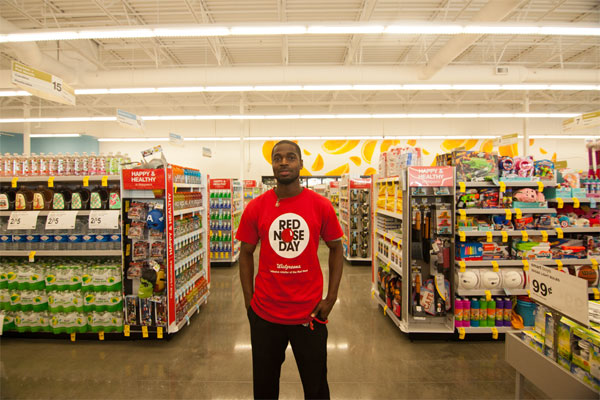 Demetrius Morissette, a resident of southeastern San Diego's Diamond Neighborhoods in one of the new team members at the Walgreens near Market Street and Euclid Avenue.