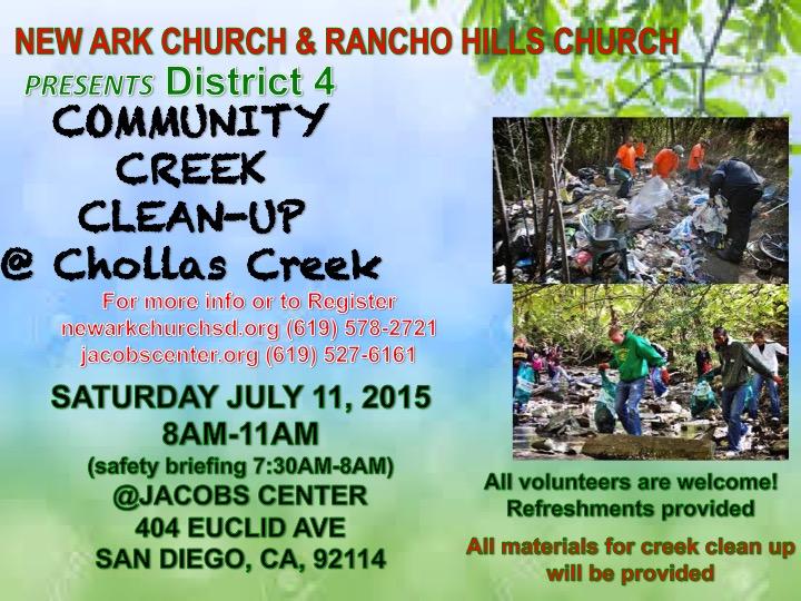 Chollas Creek Cleanup