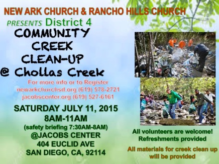 Chollas Creek Cleanup