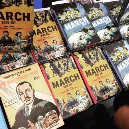 MARCH: Book One and Book Two and the comic that inspired Congressman Lewis to write a graphic novel,
